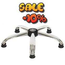 Метална кръстачка за офис стол с колелца Ø 560