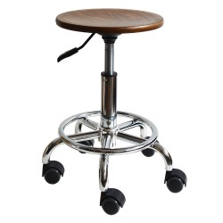 Stool with castors