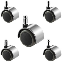 Office Chair Castors 5 Pack