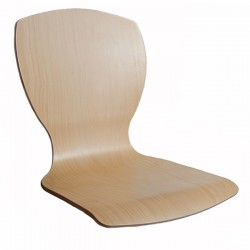 Bent plywood seat