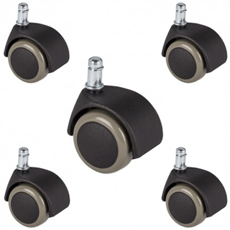 Office chair casters for hardwood floors