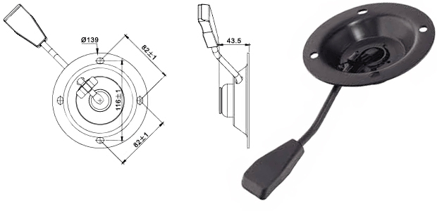 Механизъм за бар стол