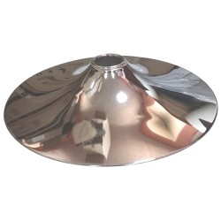 Hand Polished Round steel Chrome Chair Base